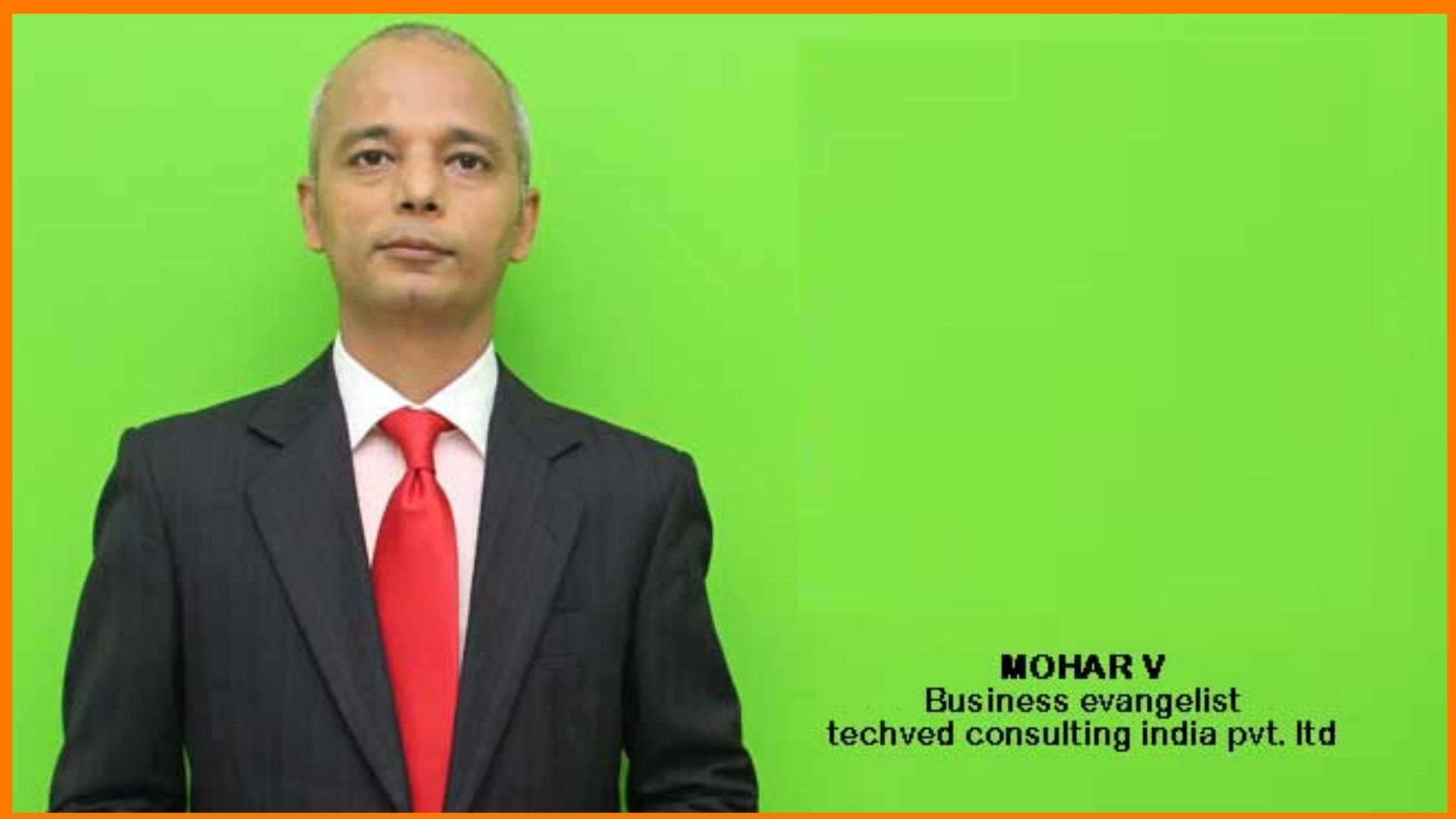 Mohar V | Business Evangelist of TAD Courses