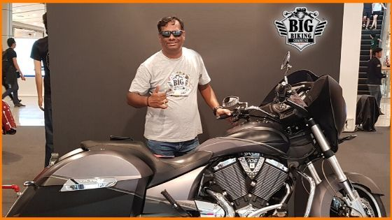 Arun Kumar is Founder and Convenor Big Biking Commune