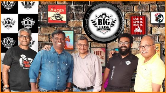 (L to R) The team - R  Ramasubramaniyan (Co-Founder and Brand Architect), Arun Kumar (Founder and Convenor), Krishnan Iyer (Co-Founder), Madhu Narayan (CEO), Samuel Thomas (Co-Founder)