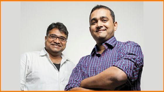 Jaydeep Barman and Kallol Banerjee founded Faasos.