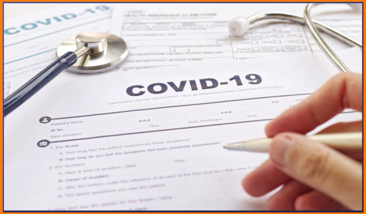 Claiming insurance for COVID-19