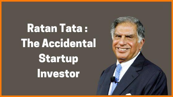 Ratan Tata: The Accidental Startup Investor