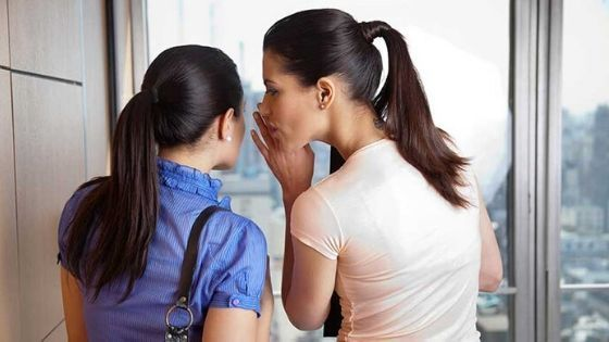 Stay Away From Gossiping