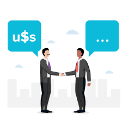 Hire a Freelance Graphic Designer, who can work on a negotiated pricing.