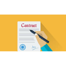 Hire a Freelance Graphic Designer and make A Contracts Before Working.