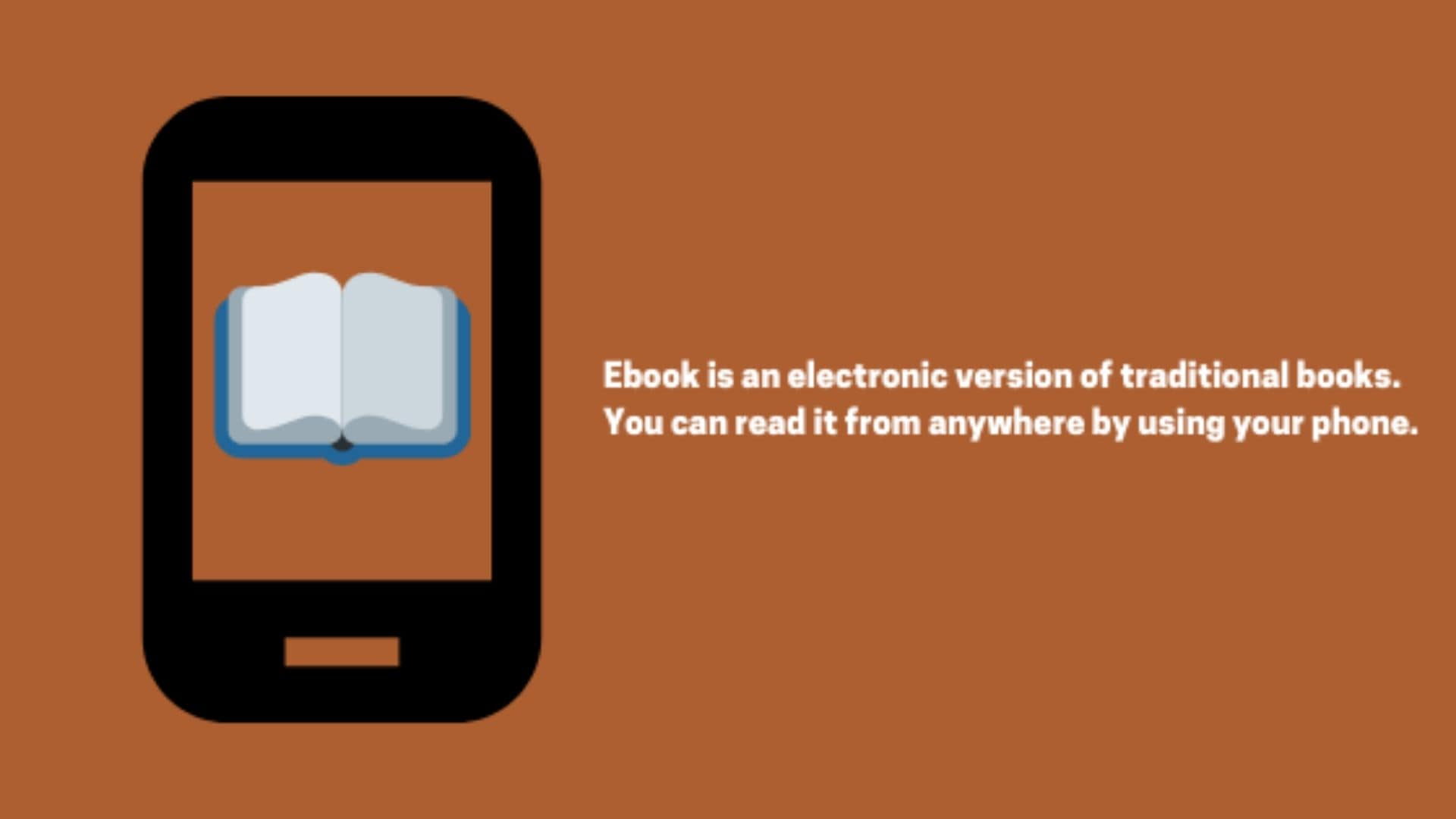 What are ebooks?