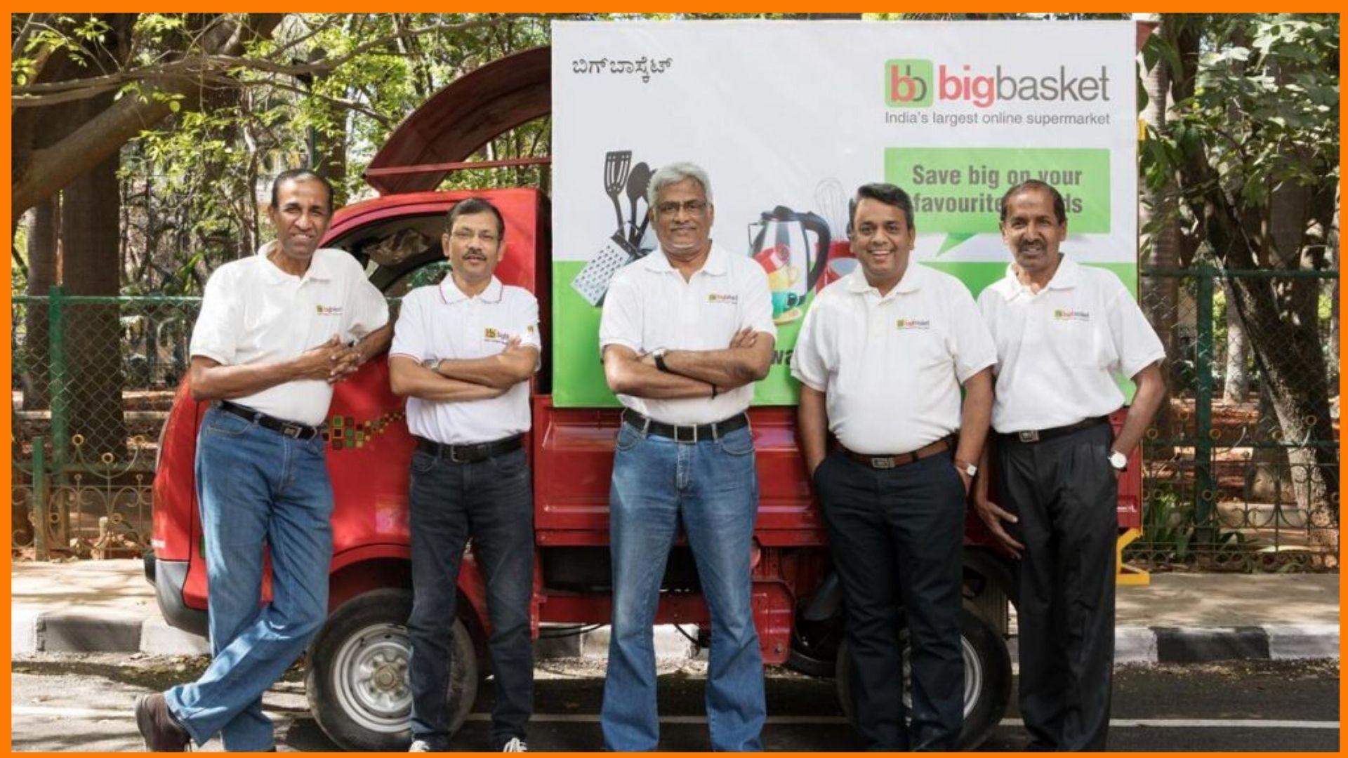 Founding team at BigBasket - Bigbasket owner