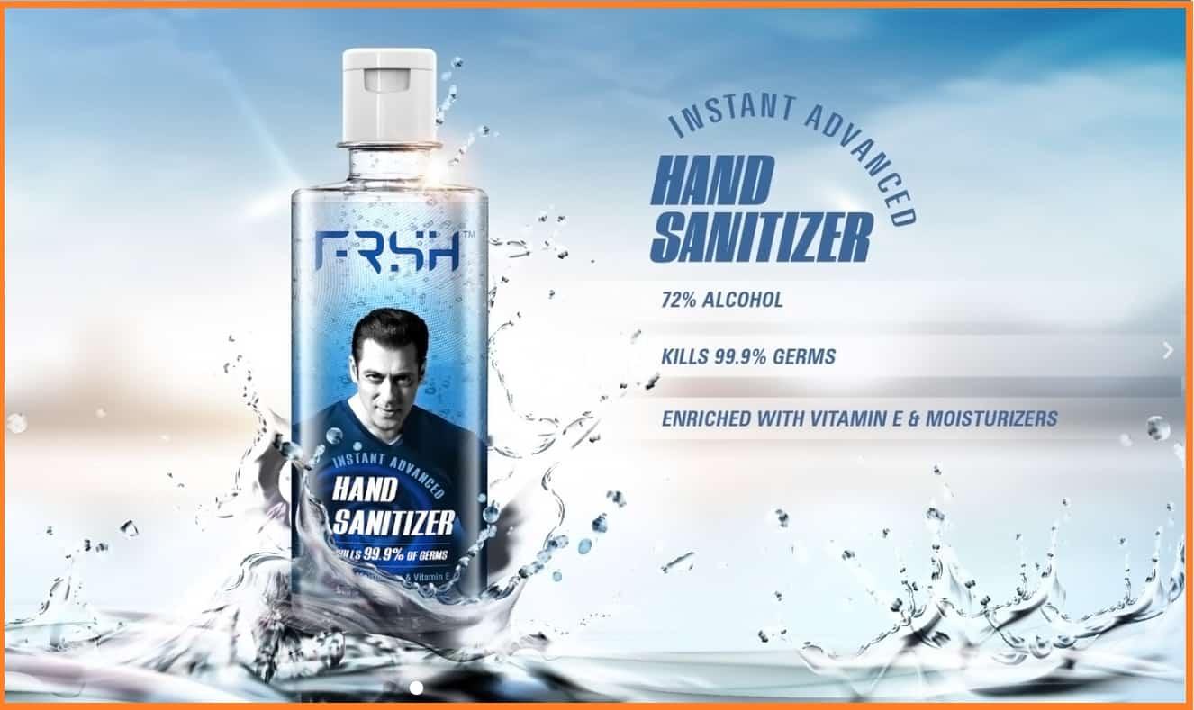 FRSH sanitizers salman