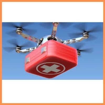 Drones as a Medicine and Grocery Deliveries device