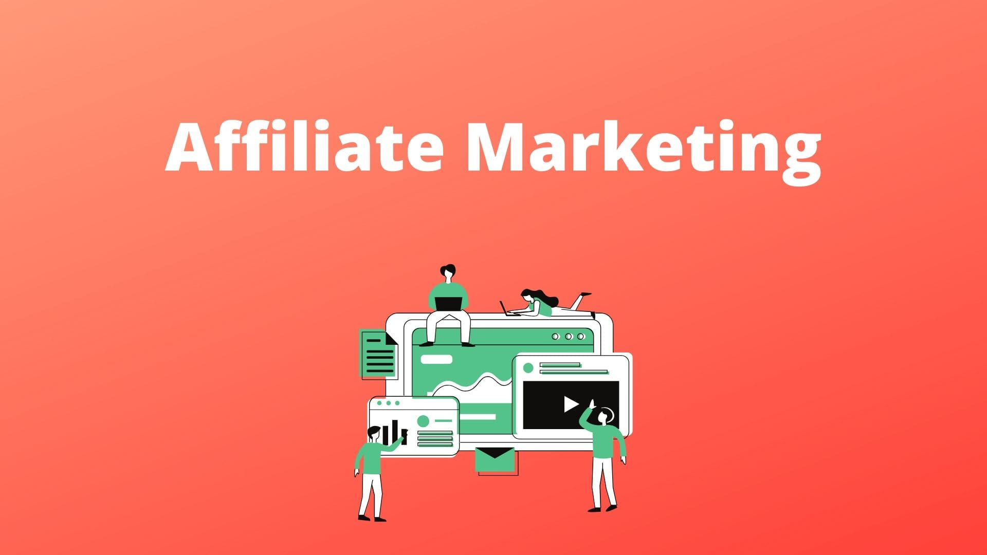 Affiliate marketing- home based business