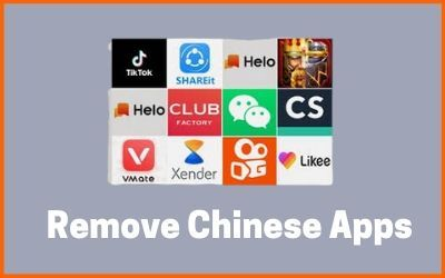 REMOVE CHINA APPS trends the google app market