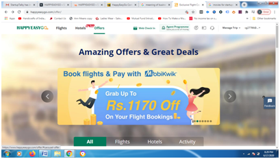 HappyEasyGo offers discount on making payment through MobiKwik