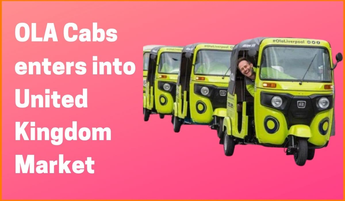 OLA Cabs forays into United Kingdom after Australia & New Zealand