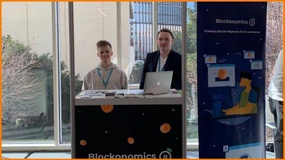 Blockonomics team at Wordcamp 2020, Prague