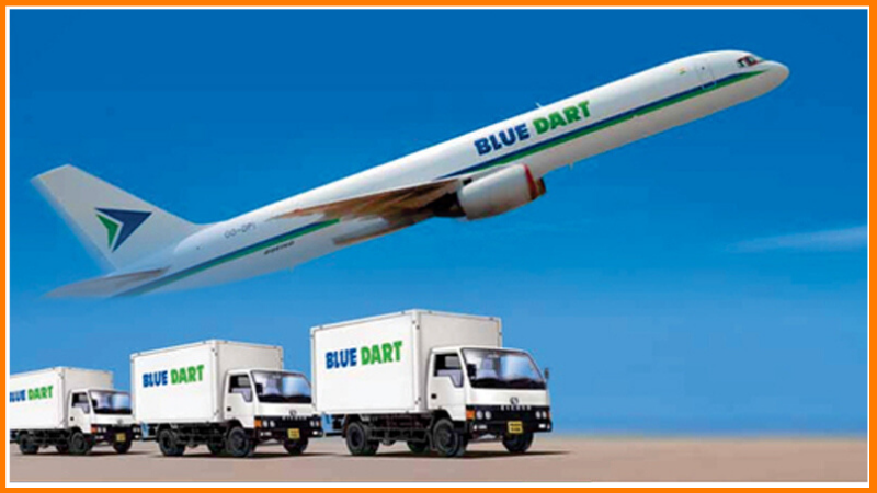 top courier companies in india bluedart