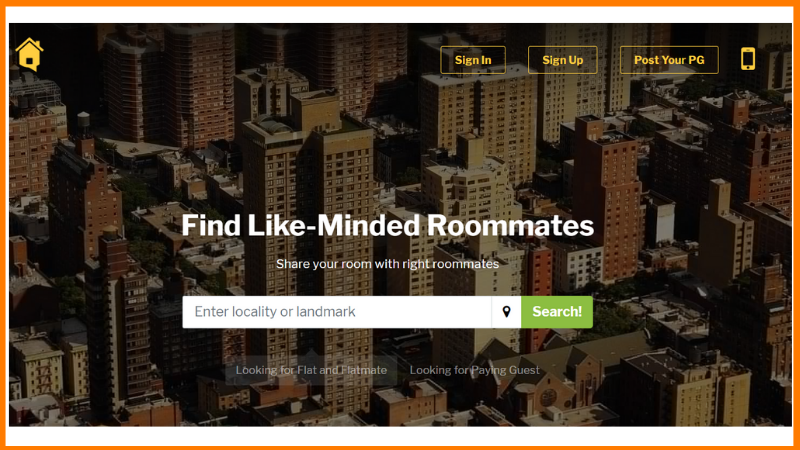 flatmates website