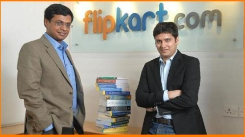 Sachin Bansal and Binny Bansal are owners of Flipkart.