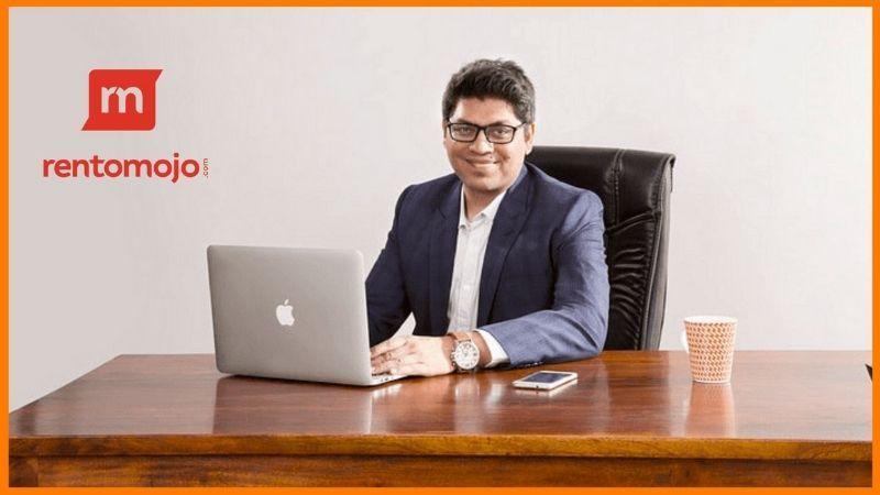 Geetansh Bamania, Founder and CEO of Rentomojo