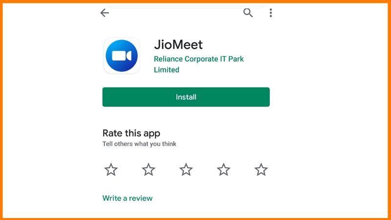 JioMeet Install
