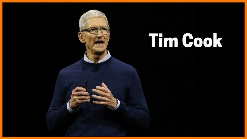 Tim Cook- CEO of Apple