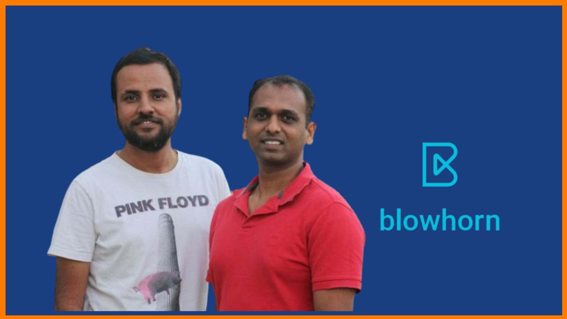 Founders of Blowhorn - Mithun Srivatsa and Nikhil Shivaprasad
