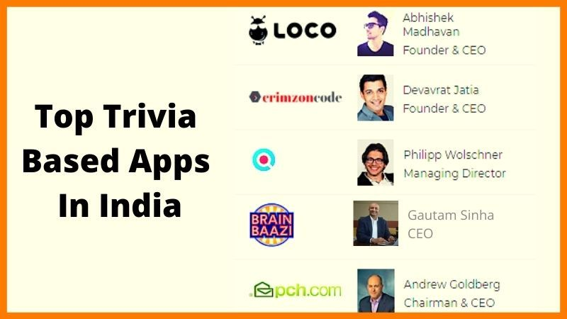 Top Trivia Based Apps In India Like Loco