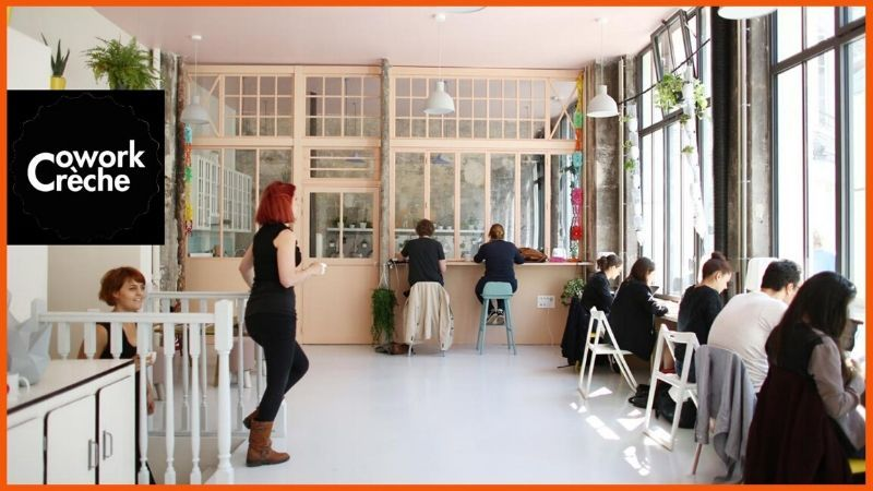 Coworkcrèche is an added specialization to coworking spaces