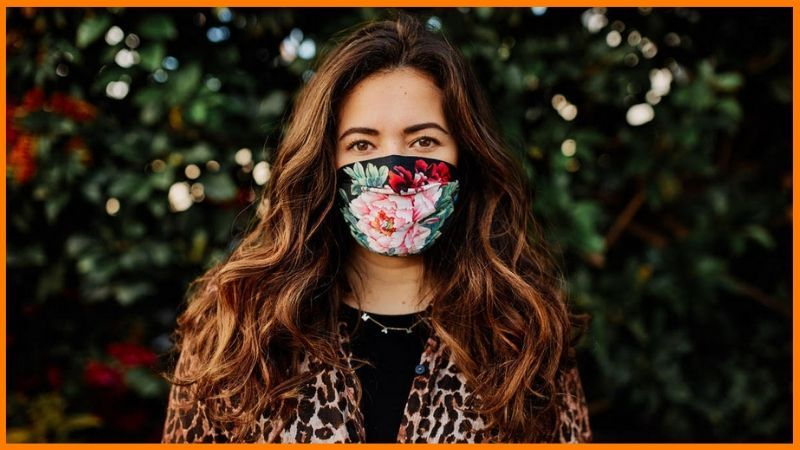 Face masks as fashion icon in a new era.