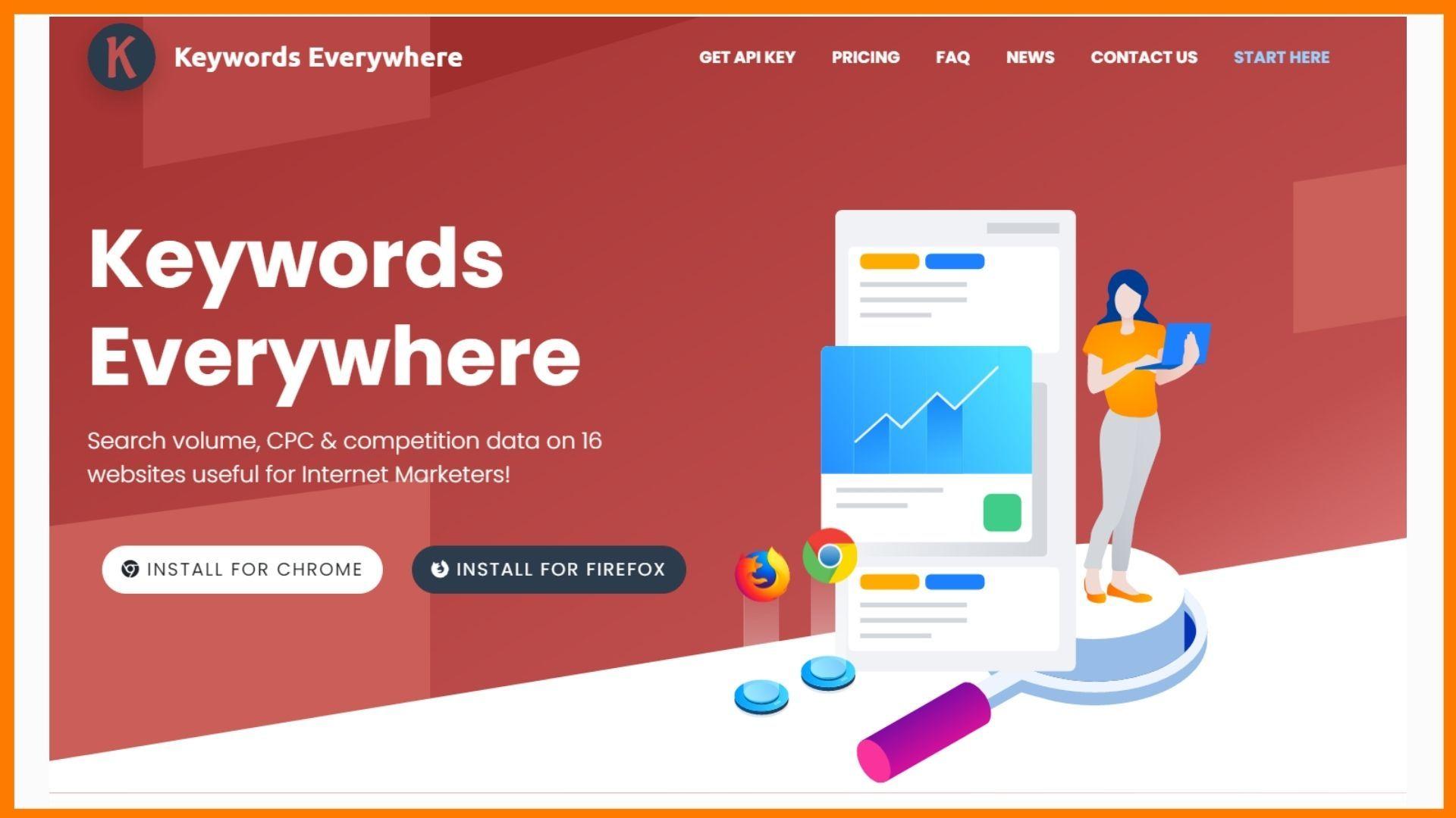 Keywords Everywhere: SEO Keyword Tool