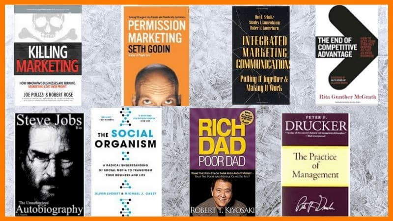 Some famous books for marketing