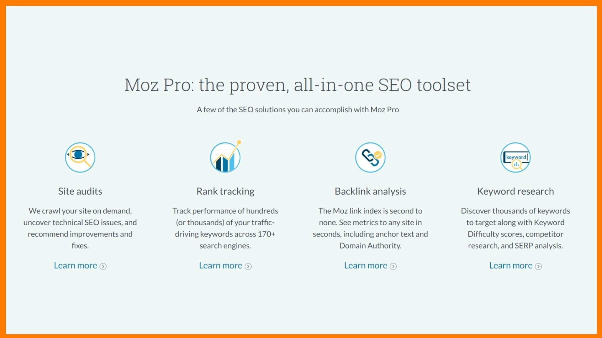 Moz Pro: SEO Software