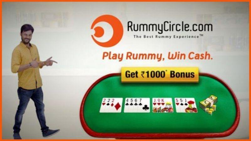 Rummy Circle Logo StartupTalky
