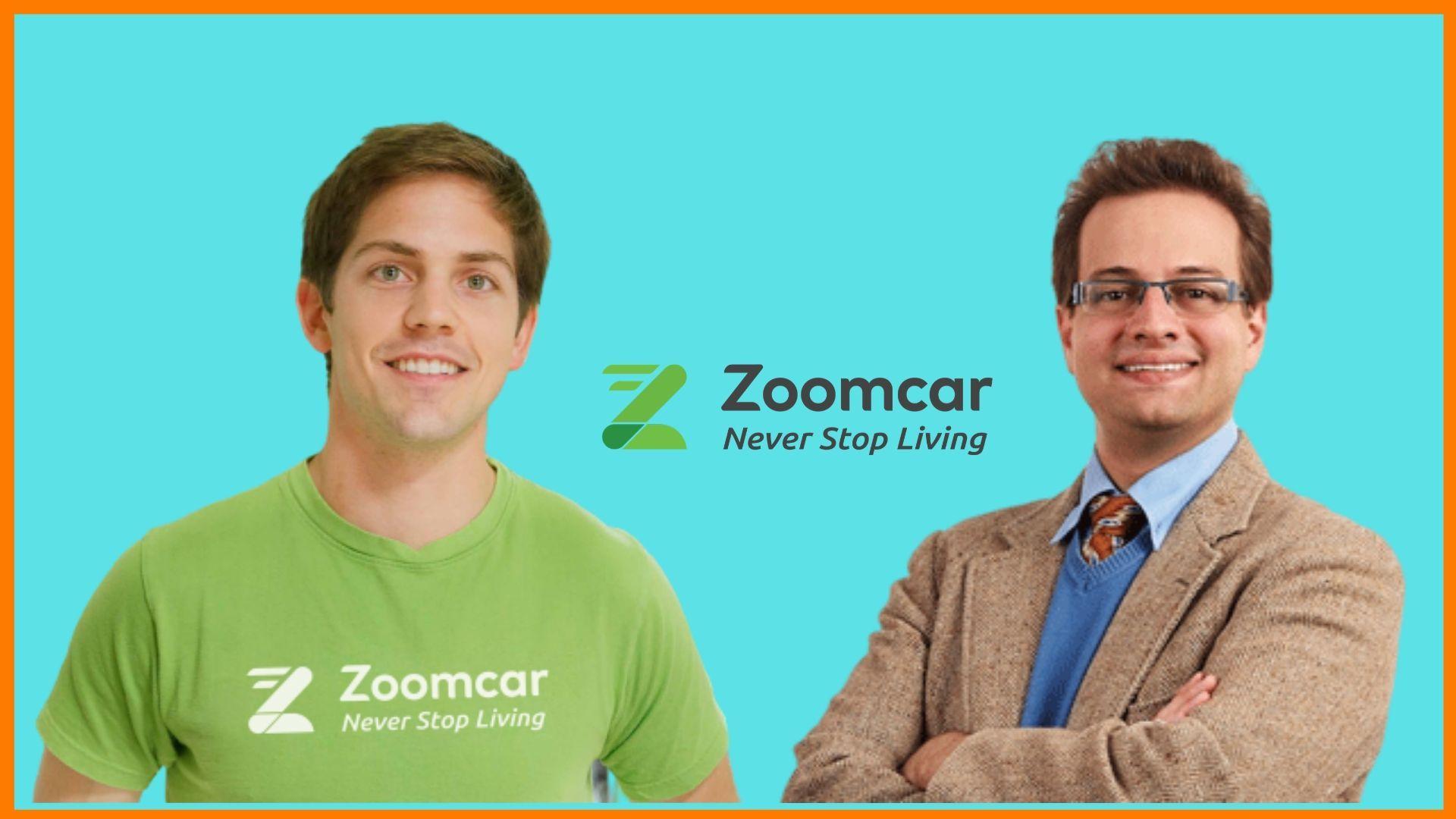 Greg Moran and David Back - Founders of Zoomcar