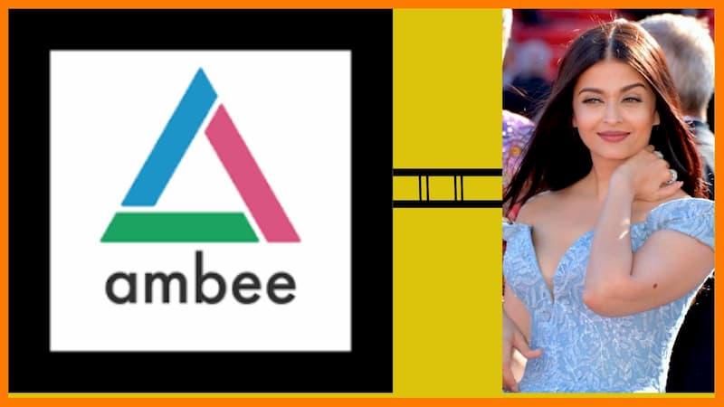 Aishwarya Rai Bachchan and ambee