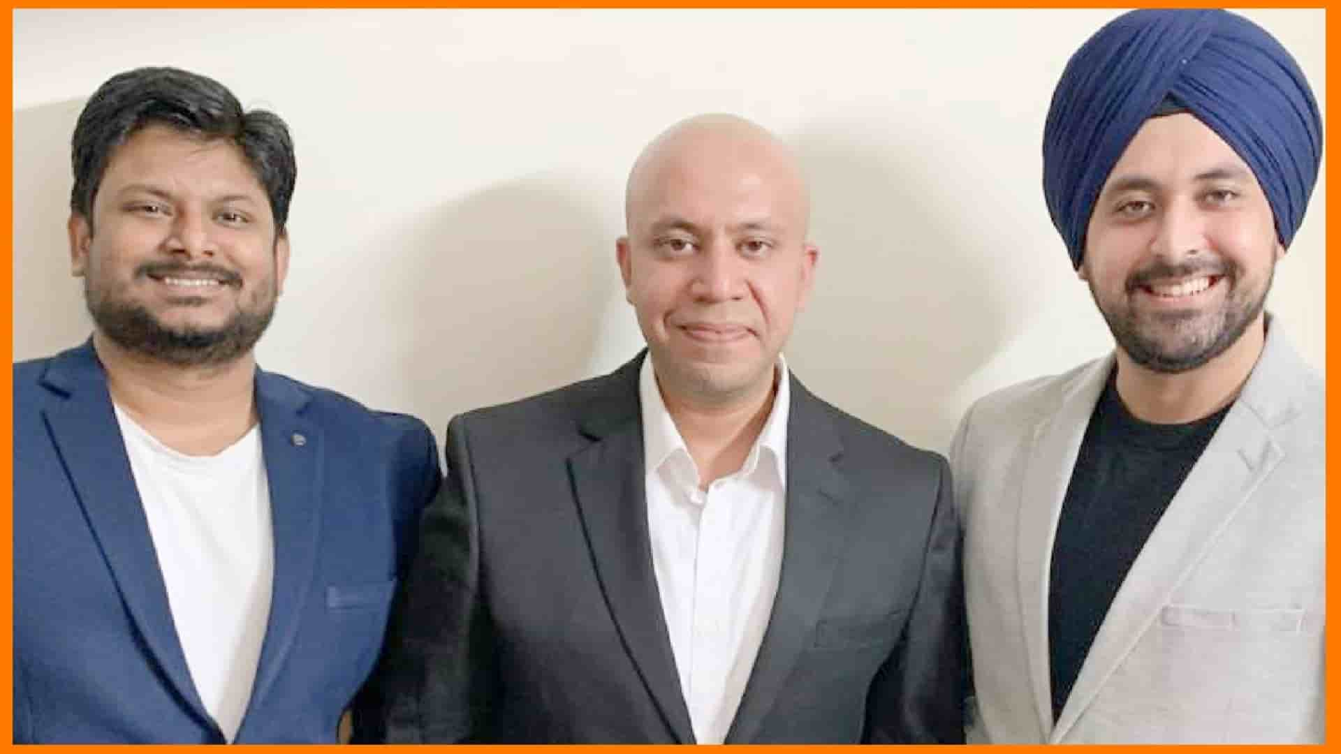 Awign Founders, Annanya Sarthak (Center), Gurpreet Singh(right) & Praveen Sah(left)