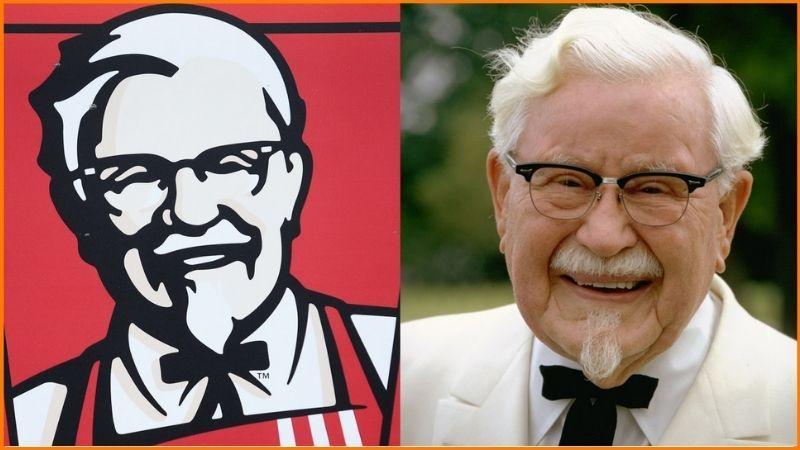 Colonel Harland Sanders | KFC | 62