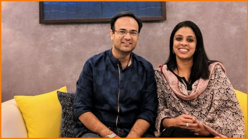 Dev Vig and Akshata Vig, founders of De Space