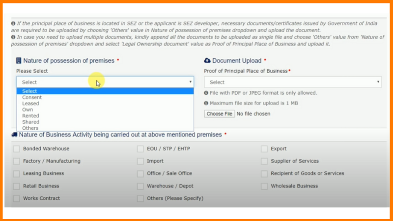 how to fill gst form easily
