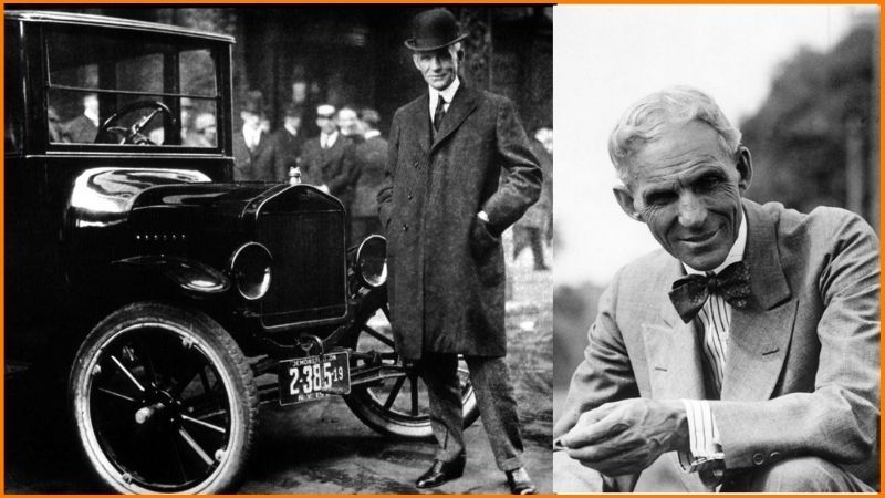 Henry Ford | Ford Motor Company | 45