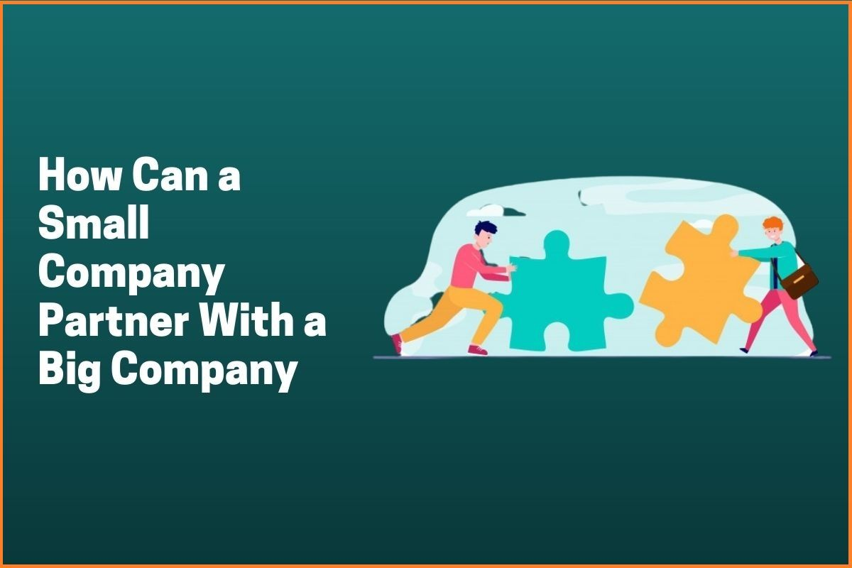 How Can a Small Company Partner With a Big Company