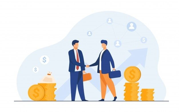 Partnering small company with big company