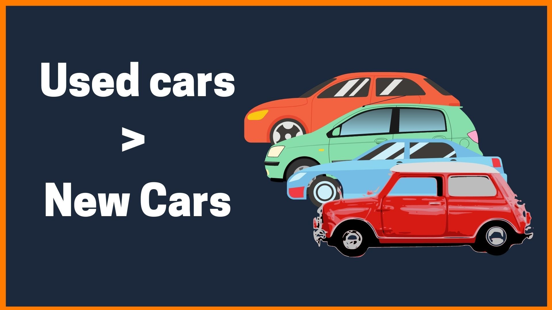 Why the demand for used cars is increasing?