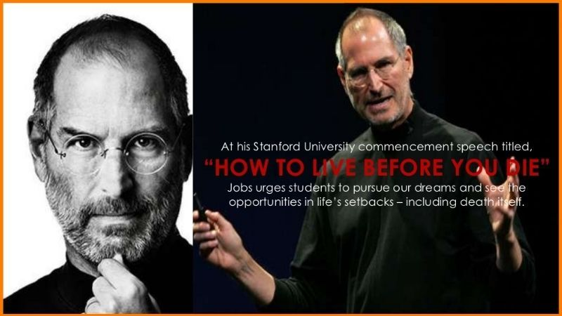 "Steve Jobs ""How to Live Before You Die"""