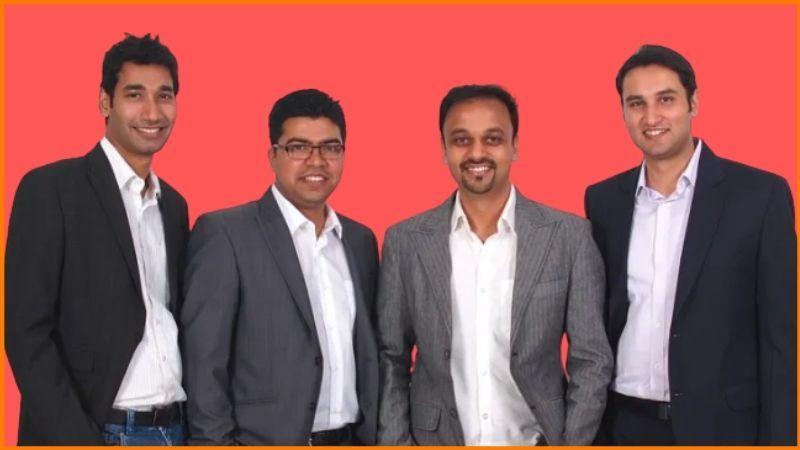 Vamsi Krishna, Saurabh Saxena, Pulkit Jain, Anand Prakash - Vedantu Founders