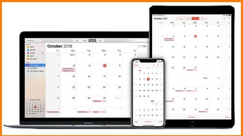 Apple Calendar Dashboard