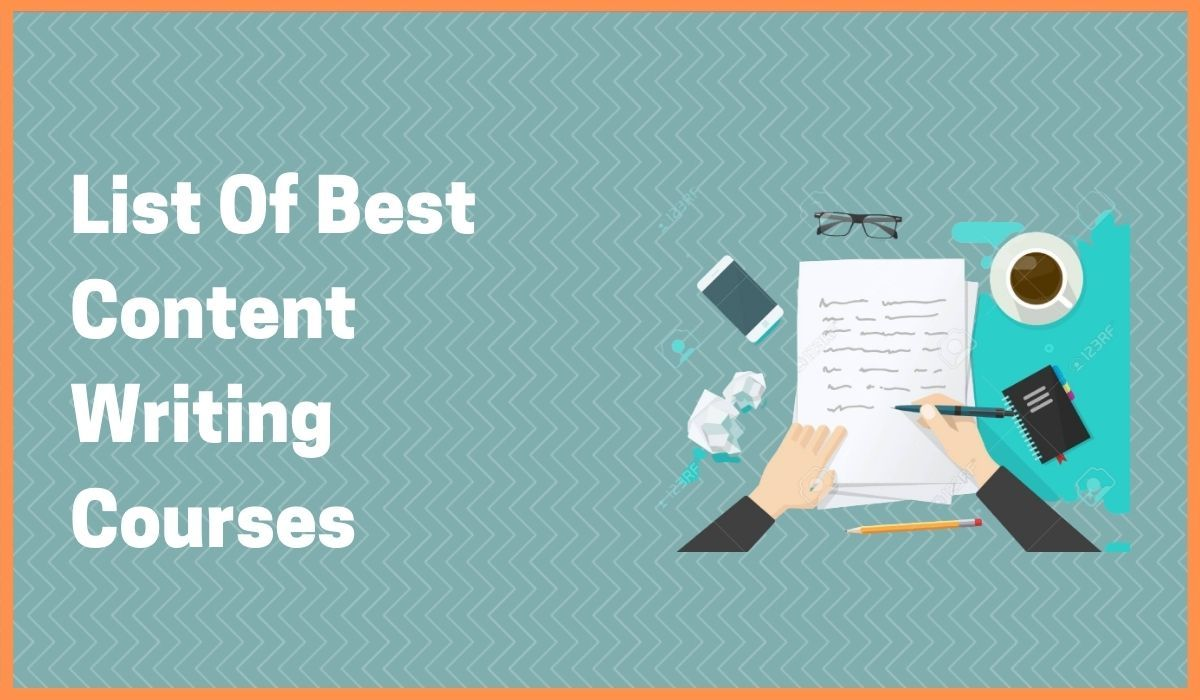 Take Advantage Of Content Writing Course - Read These 7 Courses