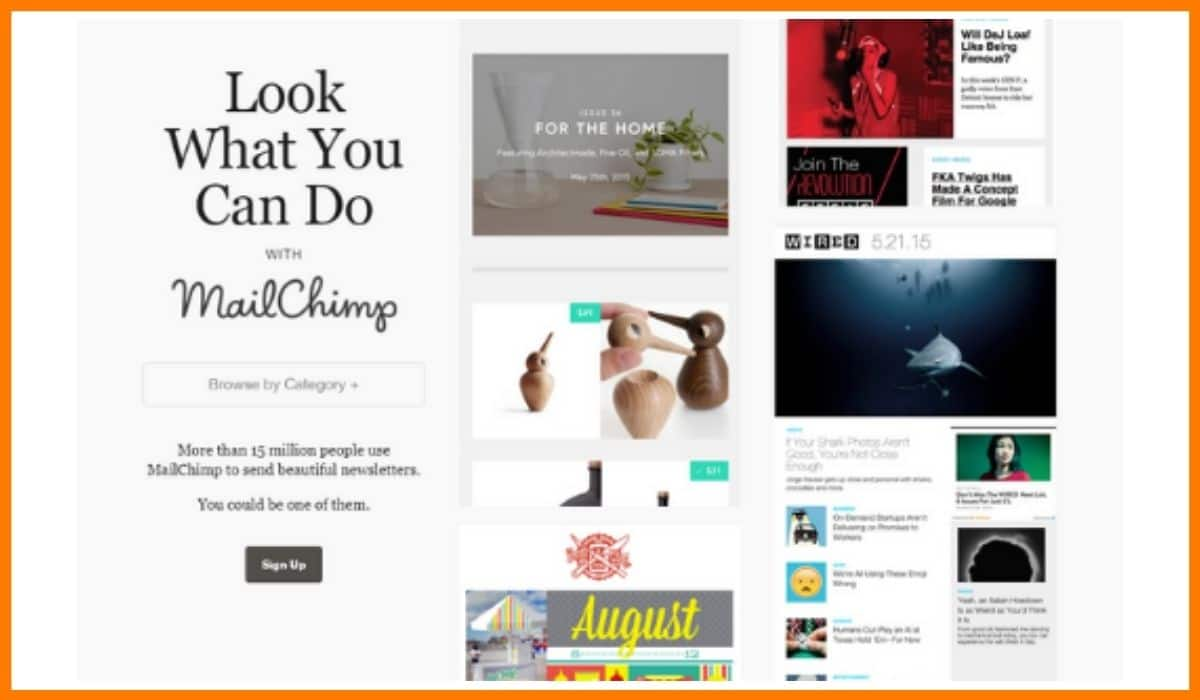 MailChimp Inspiration - Email Design Inspiration