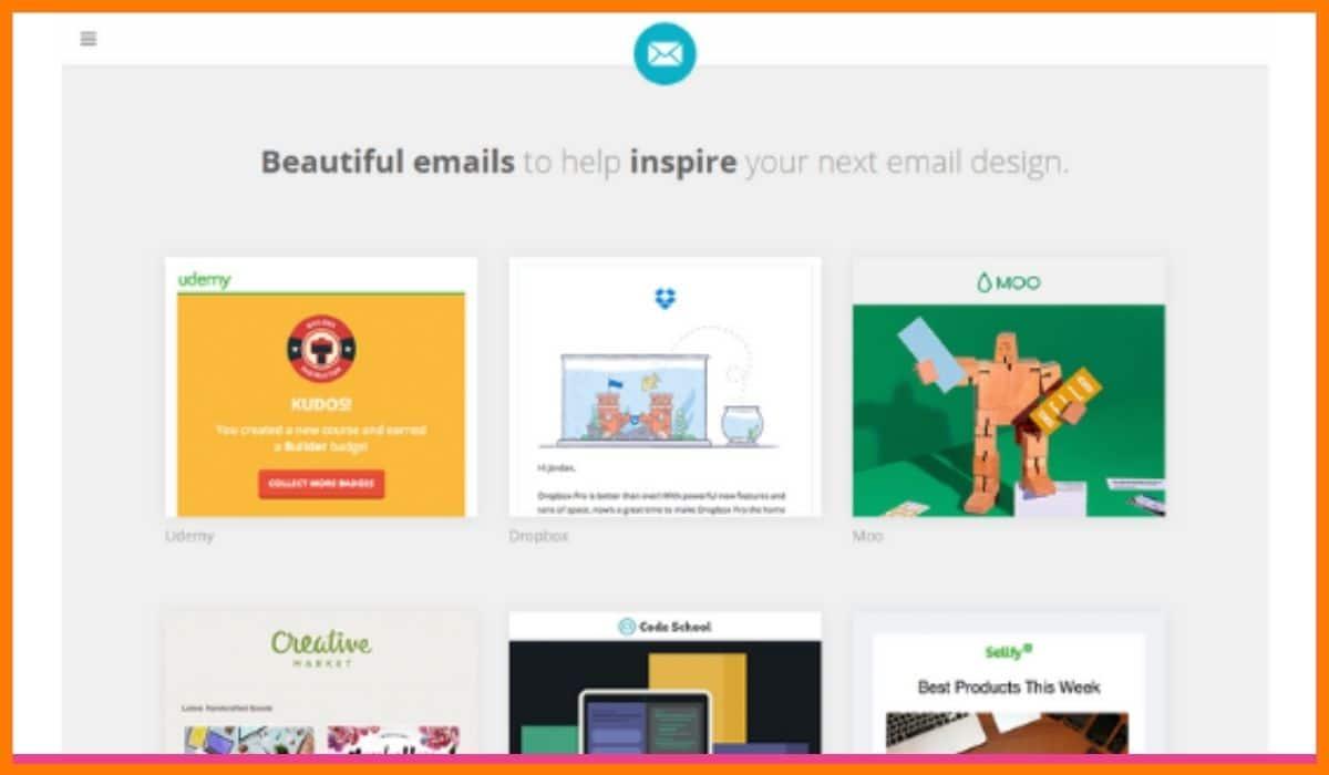 HTML Email design - Email Design Inspiration