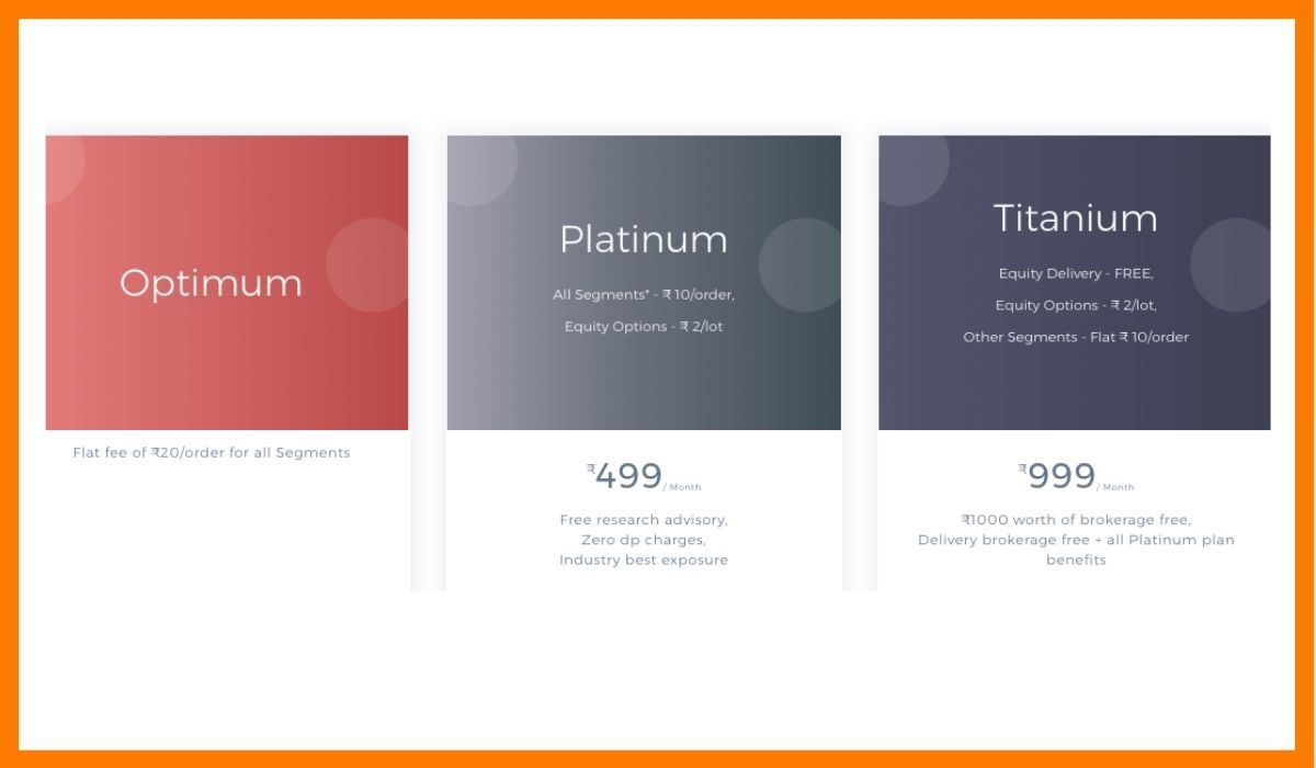 The premium options offered 5paisa