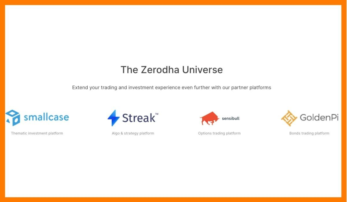 The premium options offered by Zerodha